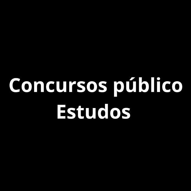Concursos público📚🔖