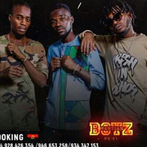 Martian Boyz 1 Mão😎